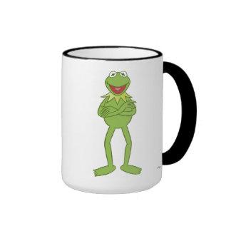 Los Muppets Kermit que coloca Disney Taza De Dos Colores