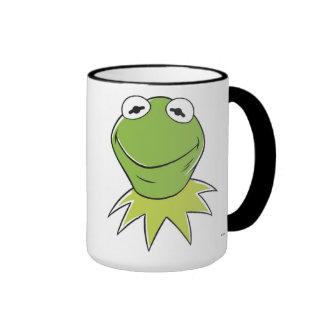 Los Muppets Kermit similing Disney Taza De Dos Colores