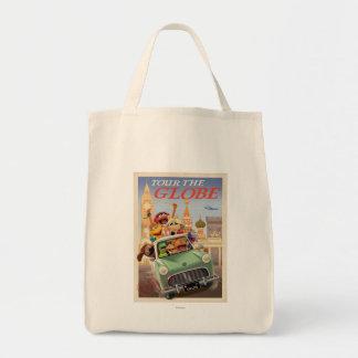 Los Muppets viajan al globo Bolsa Tela Para La Compra