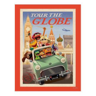 Los Muppets viajan al globo Tarjetas Postales