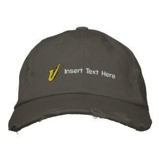 Los músicos de encargo bordaron el gorra gorras de béisbol bordadas