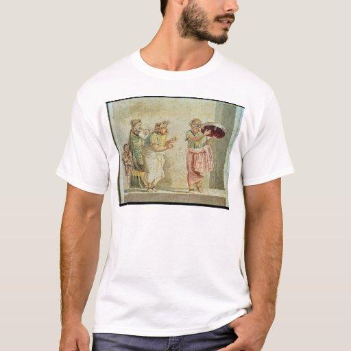 Los músicos de la calle, c.100 A.C. Playera