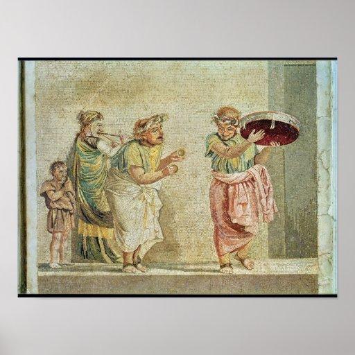 Los músicos de la calle, c.100 A.C. Poster
