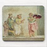 Los músicos de la calle, c.100 A.C. Tapetes De Raton