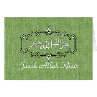 Los musulmanes le agradecen