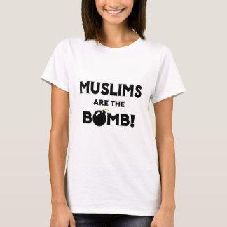 ¡Los musulmanes son la bomba! Playera