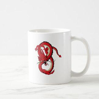 Los Muttahida Majlis-E-Amal rojos del dragón Taza