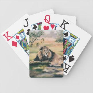 Los naipes de rey Lion Barajas