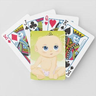 Los naipes del babiesbet baraja de cartas