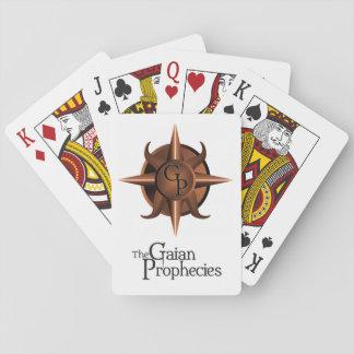 Los naipes del escudo de las profecías de Gaian Barajas De Cartas