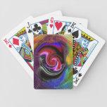 Los naipes del rey abstracto de la determinación baraja de cartas