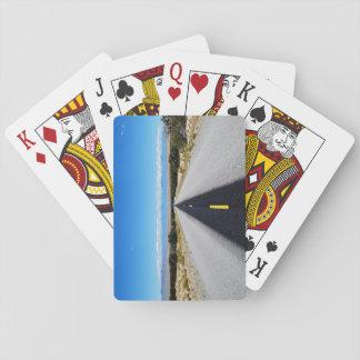 Los naipes más solos del camino barajas de cartas