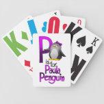 Los naipes, P están para el pingüino de Paula Baraja De Cartas