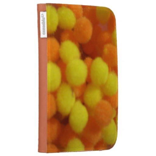 Los naranjas y el diseño de las burbujas de los li