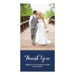 Los | náuticos le agradecen tarjeta de la foto tarjetas fotográficas personalizadas