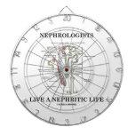 Los nefrólogos viven una vida nefrítica (Nephron) Tabla Dardos