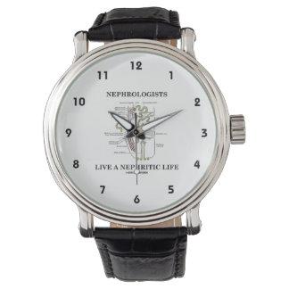 Los nefrólogos viven una vida nefrítica (Nephron) Reloj