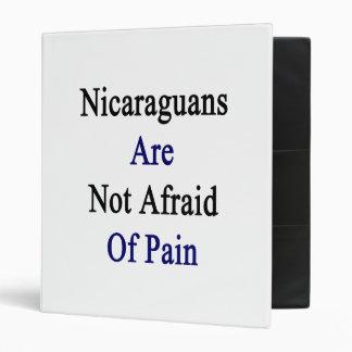 Los Nicaraguans no tienen miedo de dolor
