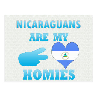 Los Nicaraguans son mi Homies Postales