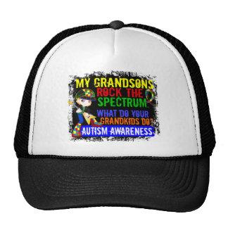 Los nietos oscilan el autismo del espectro gorra