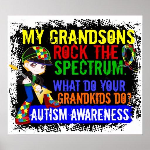 Los nietos oscilan el autismo del espectro poster