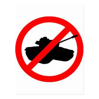 ¡Los ningunos tanques! Postal