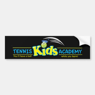 Los niños Academy_You del tenis tendrán una bola Etiqueta De Parachoque