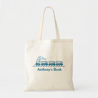 Los niños azules del tren nombraron la biblioteca bolsa tela barata