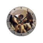 Los niños con el baño de Honore Daumier Reloj