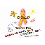 ¡Los niños consiguen al cáncer, también! Postales