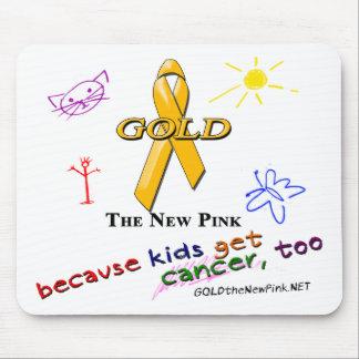 ¡Los niños consiguen al cáncer, también! Alfombrillas De Raton