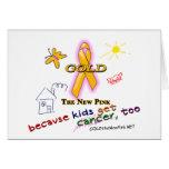 ¡Los niños consiguen al cáncer, también! Felicitaciones