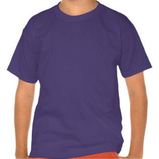 Los niños consiguen la camiseta de la conciencia d