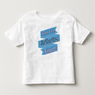 Los niños consiguen la camiseta JIA de la artritis Remeras