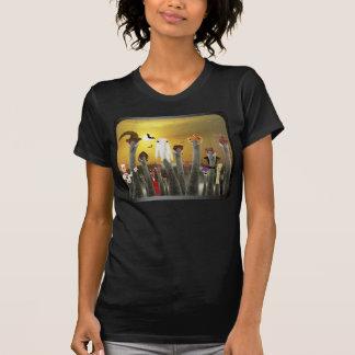 Los Ninos De Grulla T-shirts