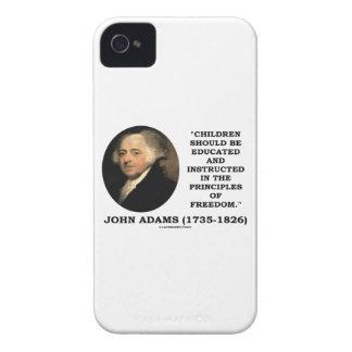 Los niños de John Adams dieron instrucciones la li