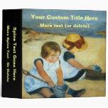 "Los niños de Mary Cassatt en la playa (1884) Carpeta 2"""
