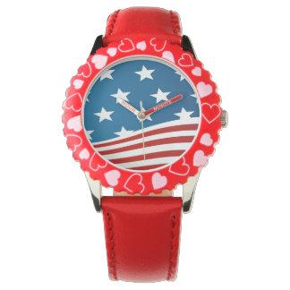 Los niños del americano reloj