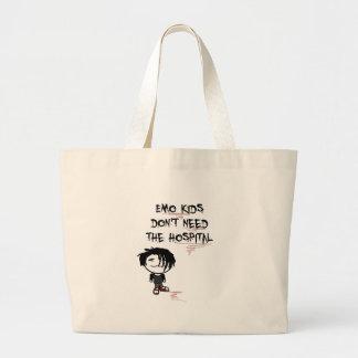 los niños del emo no necesitan el hospital bolsa