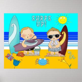 Los niños del niño de Beach Boys del poster