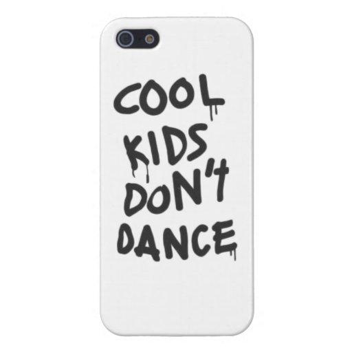 Los niños frescos no bailan iPhone 5 fundas