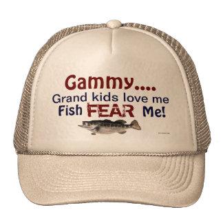 … los niños magníficos Gammy me aman que los pesca Gorro De Camionero