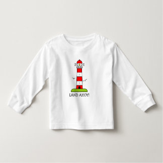Los niños náuticos visten el dibujo animado rayado camisas