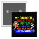 Los niños oscilan el autismo del espectro pin
