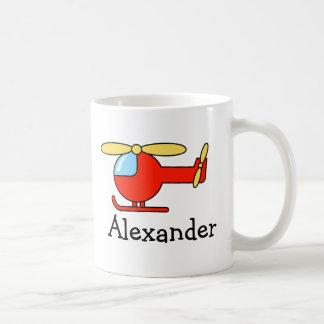 Los niños personalizados asaltan el avión y el taza
