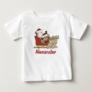 Los niños personalizaron el trineo de Santa del Camisas