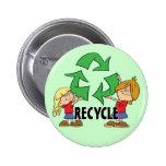 Los niños reciclan pin