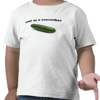 """Los niños """"se refrescan como pepino """" camisetas"""