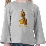 Los niños, soy apenas Ducky envuelto de largo Camisetas