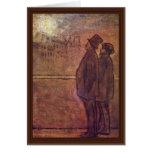 Los noctámbulos de Daumier Honoré Felicitaciones